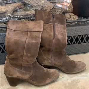 Dansko Suade and Leather Boots